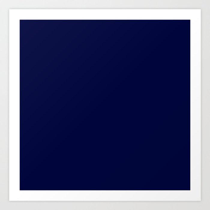 Blue Midnight Art Print