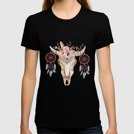 Sheep Skull Art T-shirt