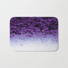 Purple Crystal Ombre Bath Mat