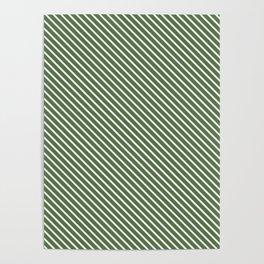 Kale Stripe Poster