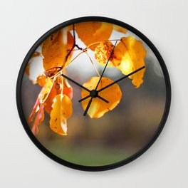 Embers II Wall Clock