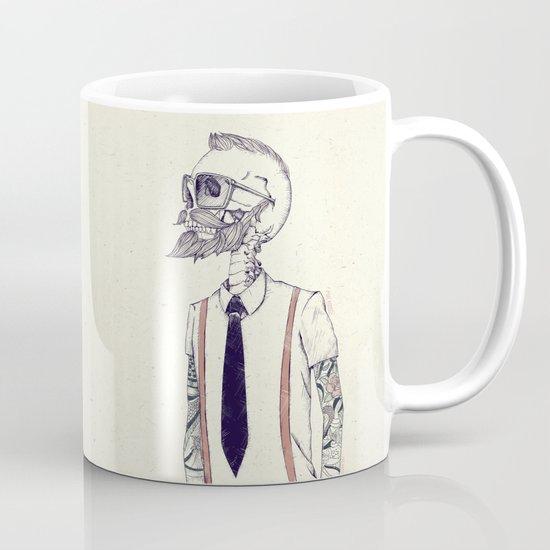 The Gentleman becomes a Hipster  Mug