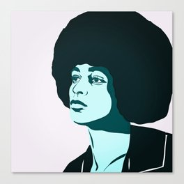 Angela Davis Canvas Print