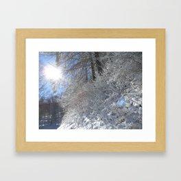 Sugarcoated Framed Art Print