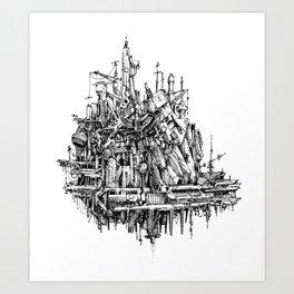 h hum Art Print