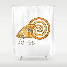 Deco Aries Shower Curtain
