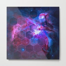 Orion Honeycomb Metal Print