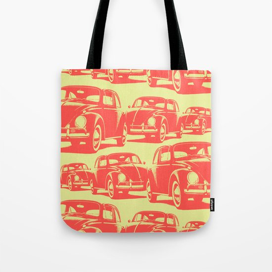 Bug Parade Pattern Tote Bag