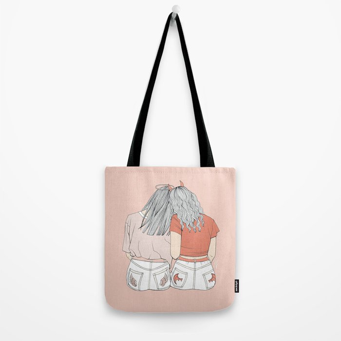 Befriend Your Demons Tote Bag