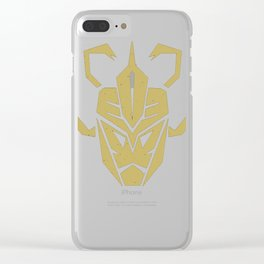 Decepticon MummRa - Mono Clear iPhone Case