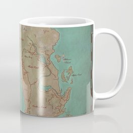 Map of Dereth //Asheron's Call Coffee Mug