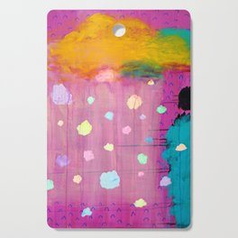 Cotton Candy Conundrum Cutting Board