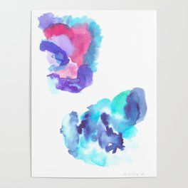 180802 Beautiful Rejection 13| Colorful Abstract Poster