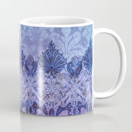 ABERDEEN HEIRLOOM, LACE & DAMASK: FRENCH BLUE Coffee Mug