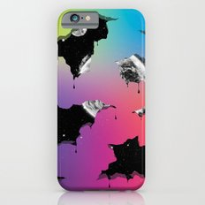 Cosmic Matter and the Neon Spectrum iPhone 6s Slim Case