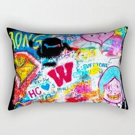 Graffiti Hypebeast Bape Illustration Rectangular Pillow