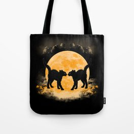 Black Cats Paradise Tote Bag