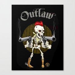Outlaw Canvas Print
