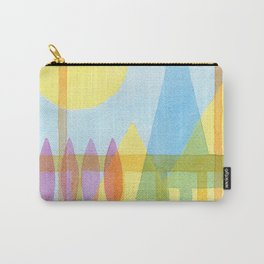 From the inside out -watercolor landscape Carry-All Pouch