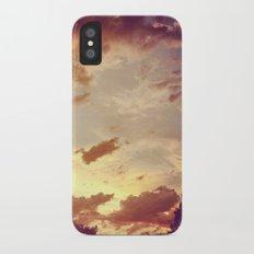 red clouds iPhone X Slim Case