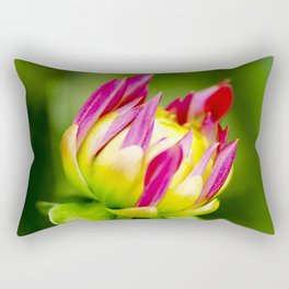 Karma Thalia Dahlia In Bloom Rectangular Pillow