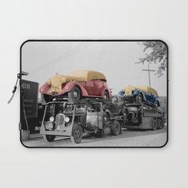 Vintage Car Carrier Laptop Sleeve