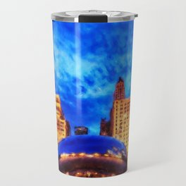 Chicago Panorama Travel Mug