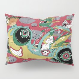get in the car, we're goin' for a ride! Pillow Sham