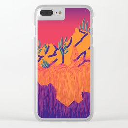 Dusky Strangelands Clear iPhone Case