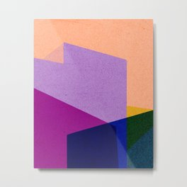 color blocks #1 Metal Print