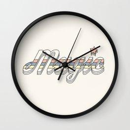 MAGIC Wall Clock