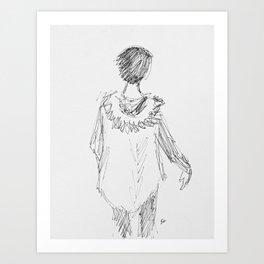 Parker Girl Art Print