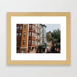 Beacon Hill Framed Art Print