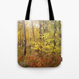 You Can Just Hear the Breeze Through the Trees  Tote Bag