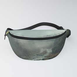 Mountain River Mist Fanny Pack
