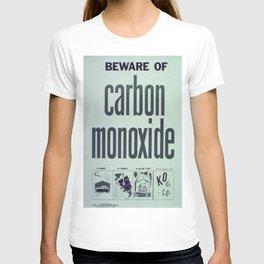 Vintage poster - Carbon Monoxide T-shirt