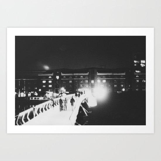 London night Art Print