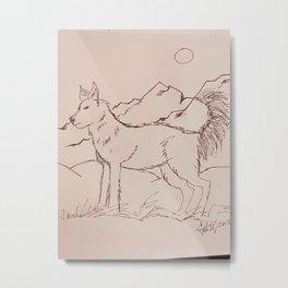 doggie Metal Print