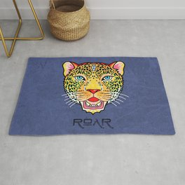Roar / Retro Wild Cat Rug
