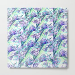 Leng Pattern 818 Metal Print