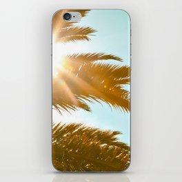 Tropical Sun Palm Tree iPhone Skin