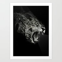 fierce Art Prints featuring Fierce by Ismael Sandiego