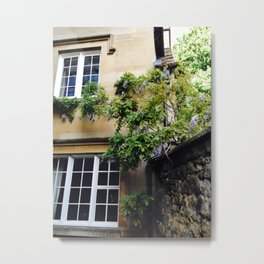 Secret Purple Flowers of Oxford Metal Print