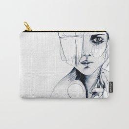 Sketch V Carry-All Pouch