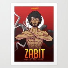 Zabit Art Print