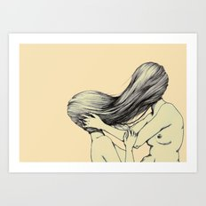 Hair Lust Art Print