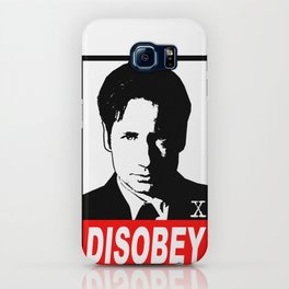 Disobey Mulder iPhone Case