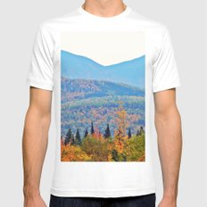 Wilderness in Bloom Mens Fitted Tee White MEDIUM