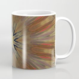 Pinkbrown(blue) Pattern 14 (New Mandala) Coffee Mug