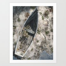 Washed Asore Art Print